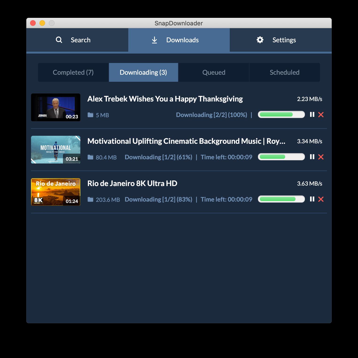 Reddit video downloader for Windows and macOS - SnapDownloader